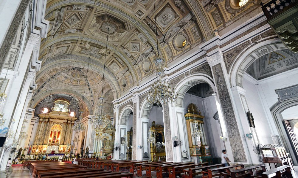San Agustin Church in Intramuros Manila