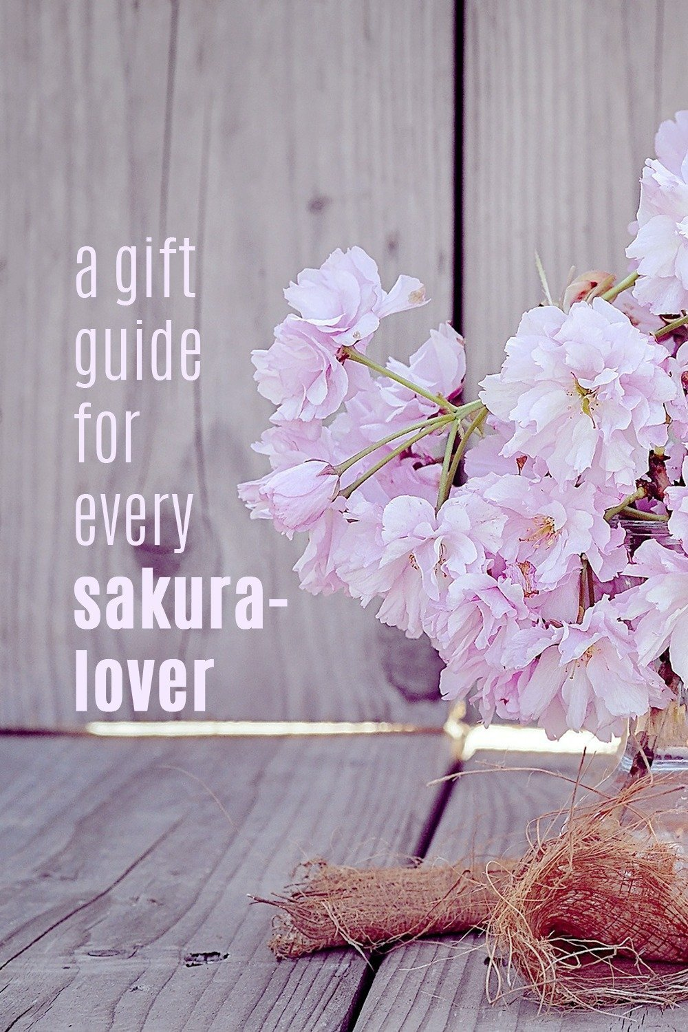 Every spring, sakura-lovers all around the world congregate in Japan for the annual hanami or flower-viewing season. If you can't make it to hanami this year, how about making the cherry blossoms come to you instead? In this gift guide, you'll find home decors, bath products, and personal items that will surely surround you with the spring season's fresh and inspiring vibe. Click through for a cherry blossoms-inspired gift guide.