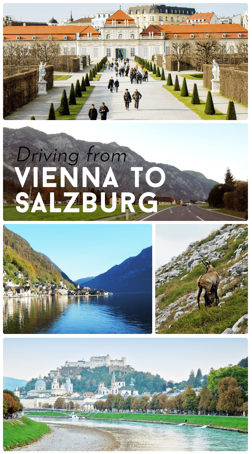 Austria is brimming with beautiful landscapes and charming towns. Visit them in this road trip itinerary from Vienna to Salzburg.