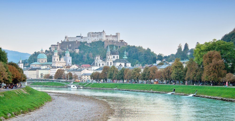 Instead of taking the train or driving on the A1, take a scenic route from Vienna to Salzburg to visit Austria's charming towns and villages.