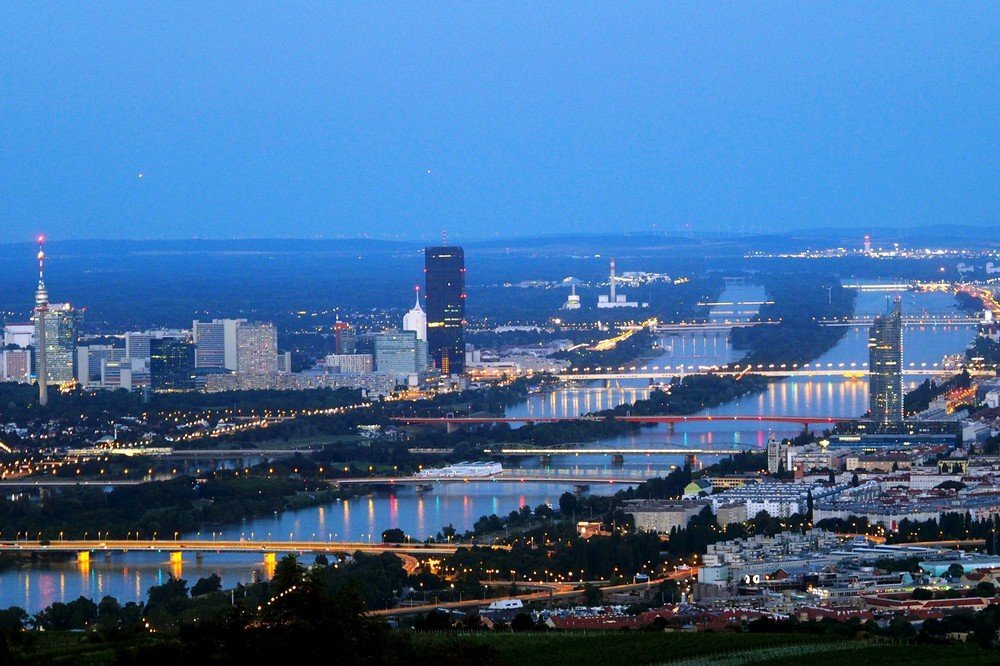 30 minutes north of Vienna is Kahlenberg, where you can enjoy fantastic views of the city.